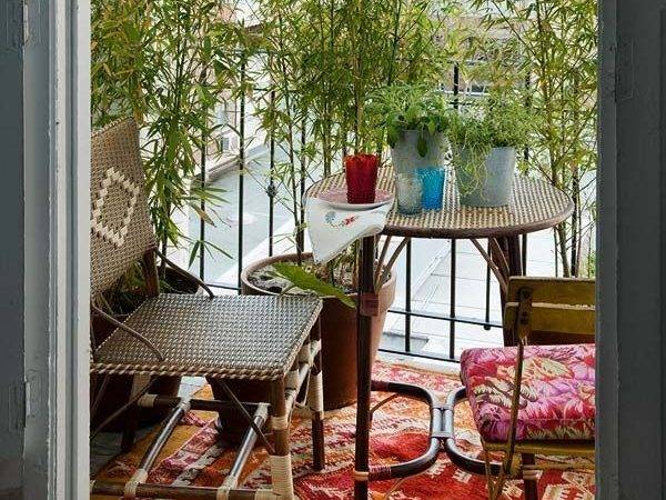 Colorful Boho Chic Balcony Cor Ideas Digsdigs
