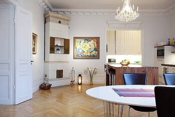 Colorful Modern Stockholm Apartment Sale
