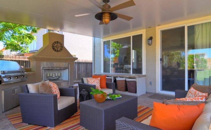 Colorful Outdoor Rooms Spaces Patio Ideas Decks Gardens