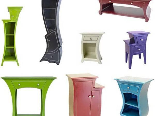 Colorful Unique Furniture Design