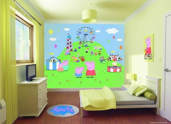 Colors Kids Room Wall Paint Small Rooms