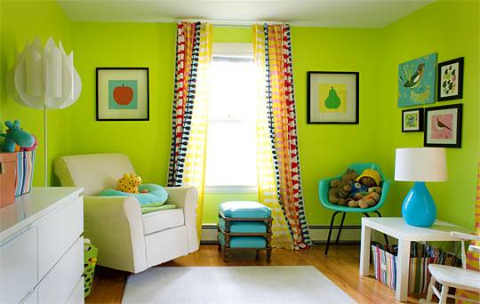 Colors Kids Rooms Let Choose Their Own