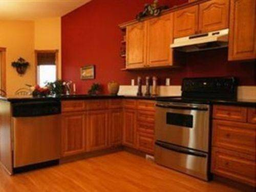 Colors Kitchens Kitchen Wall Red Walls