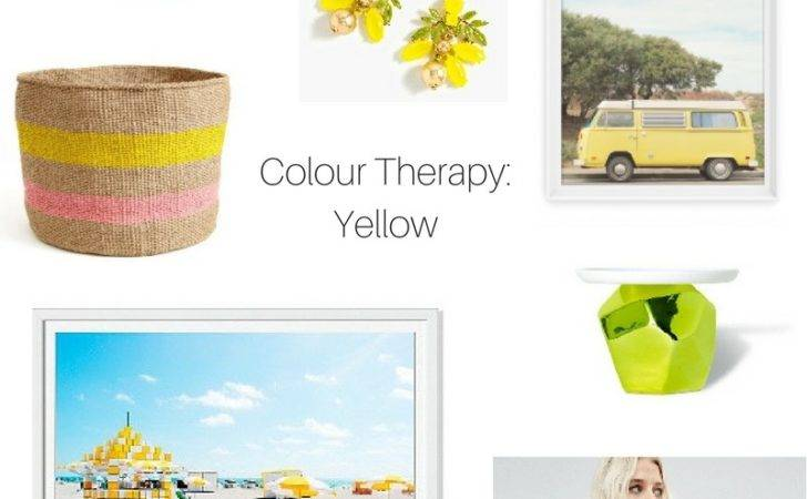 Colour Therapy Yellow Damask Dentelle Blog