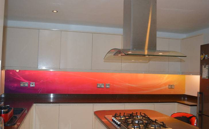 Coloured Glass Splashbacks Give Your Kitchen Personality Feedster