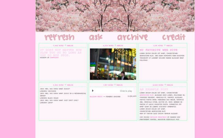 Column Tumblr Themes Related Keywords Long