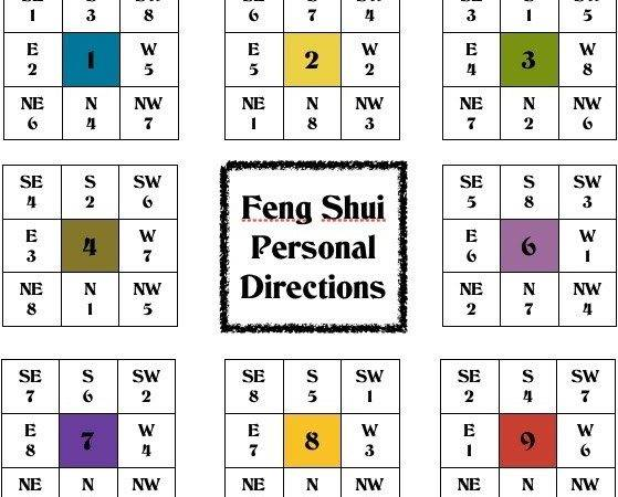 Comet Realty Hayley Feng Shui Tip Lucky Directions