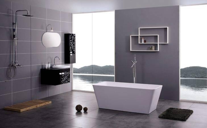 Comfort Bathroom Contemporary Bathrooms Freestanding Soaker Tub New