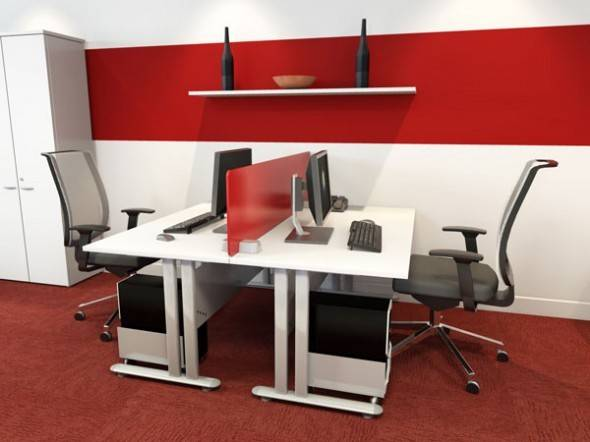 Comfortable Workstation Design Modern Contemporary Office