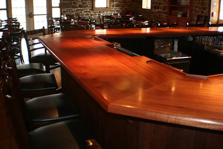 Commercial Bar Tops Wood Restaurant Cafe Pub Grothouse