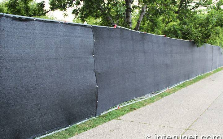 Commercial Chain Link Fence Screen Interunet