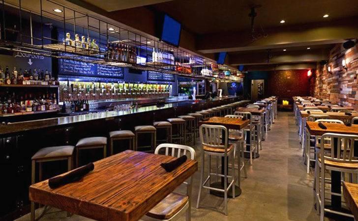 Commercial Hospitality Interior Design Tap Bar