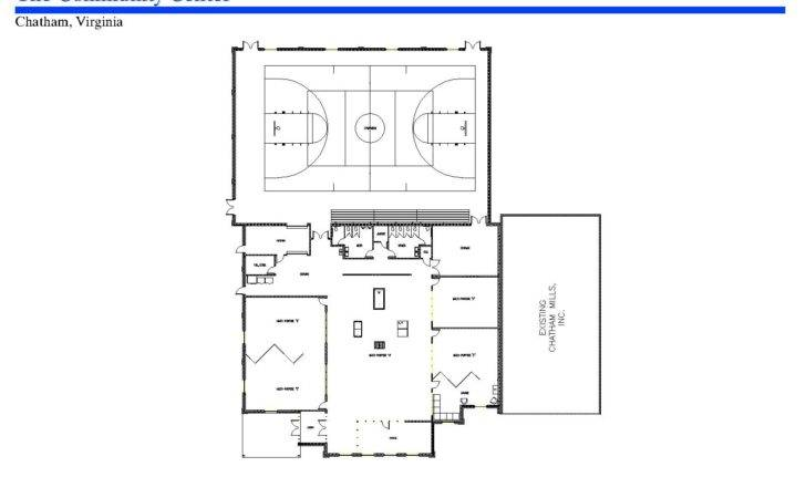 Community Center Design Plans