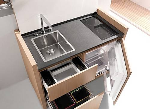 Compact Hyper Equipped Mini Kitchen Designs Kitchoo