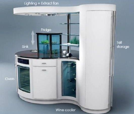 Compact Kitchen Unit Modern Homes Elite Choice