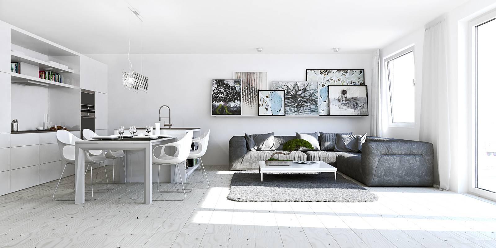 Compact Studio Apartment Sofa Chairs Rug Design Olpos