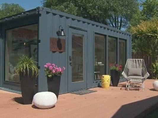 Company Adapting Shipping Containers Into Home Additions Kvue