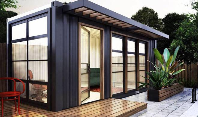 Company Refurbishing Shipping Containers Into Quaint Additions