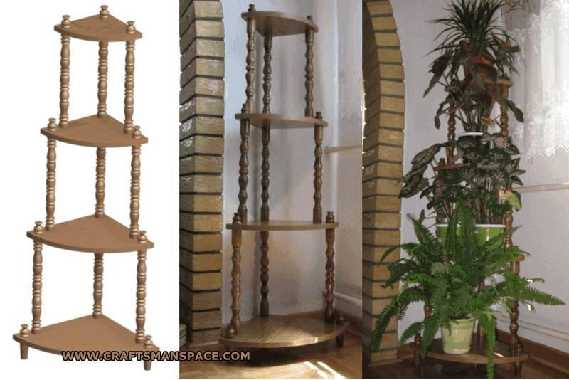 Complete Plan Corner Plant Holder Pdf Pages