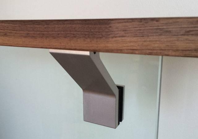 Componance Glass Mounted Modern Handrail Bracket Brackets