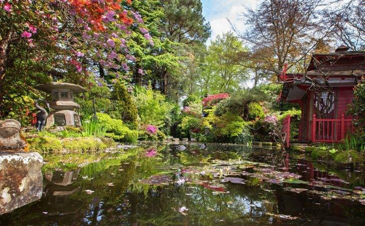 Compton Acres Dorset Celebrates Japanese Horticulture Visitor