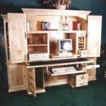 Computer Armoire Desk Things Want Hubby Make Pinterest