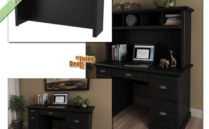 Computer Desk Storage Home Office Furniture Wood