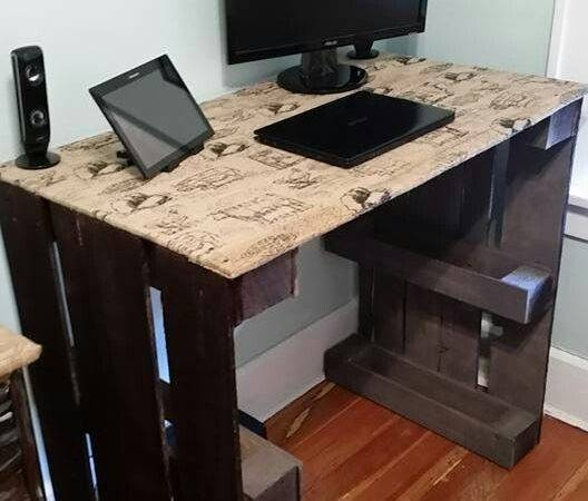 Computer Desks Diy Desk Ideas Pallet