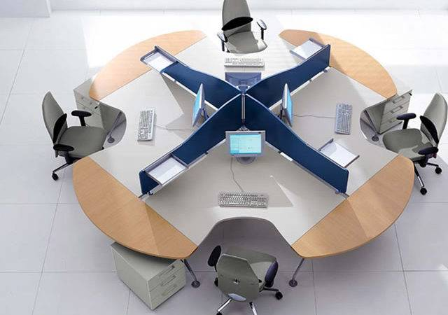 Computer Furniture Design New Branch Office