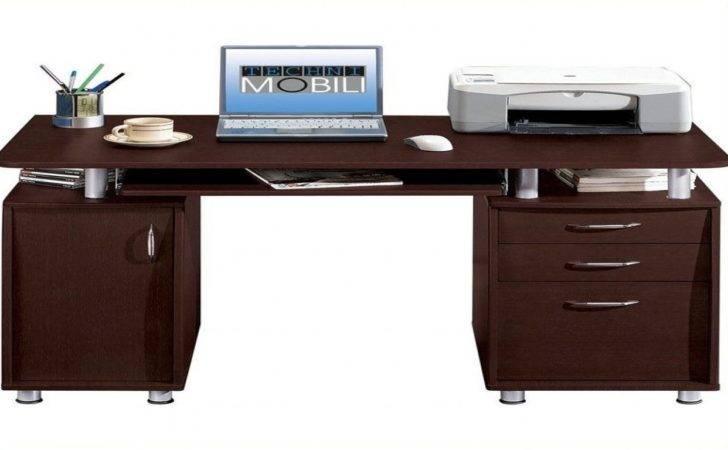 Computer Table Storage Techni Mobili Super