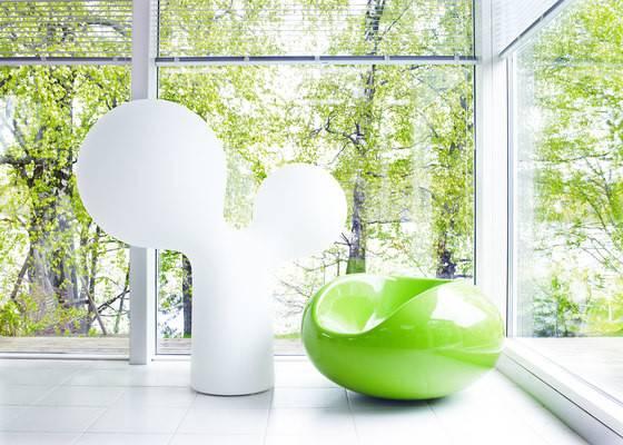 Concept Eero Aarnio Designed Double Bubble Lamp Initially