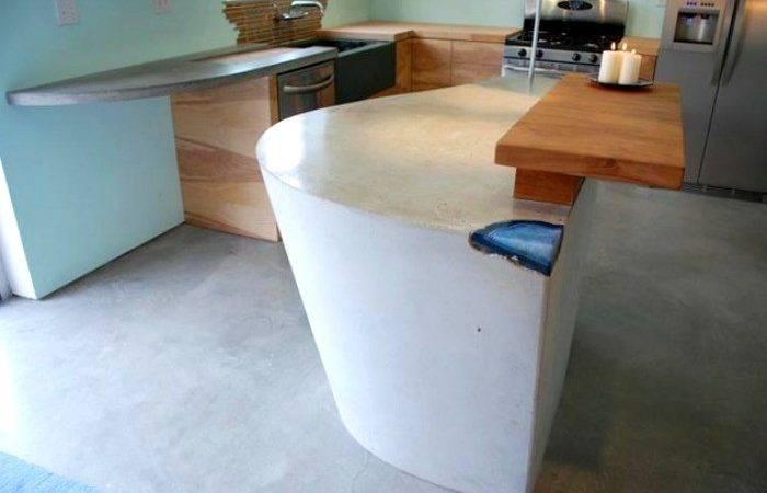 Concrete Agate Countertop