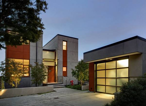 Concrete Based Stylish Residence Seattle Washington Freshome