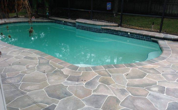 Concrete Designs Florida Oviedo Pool Deck