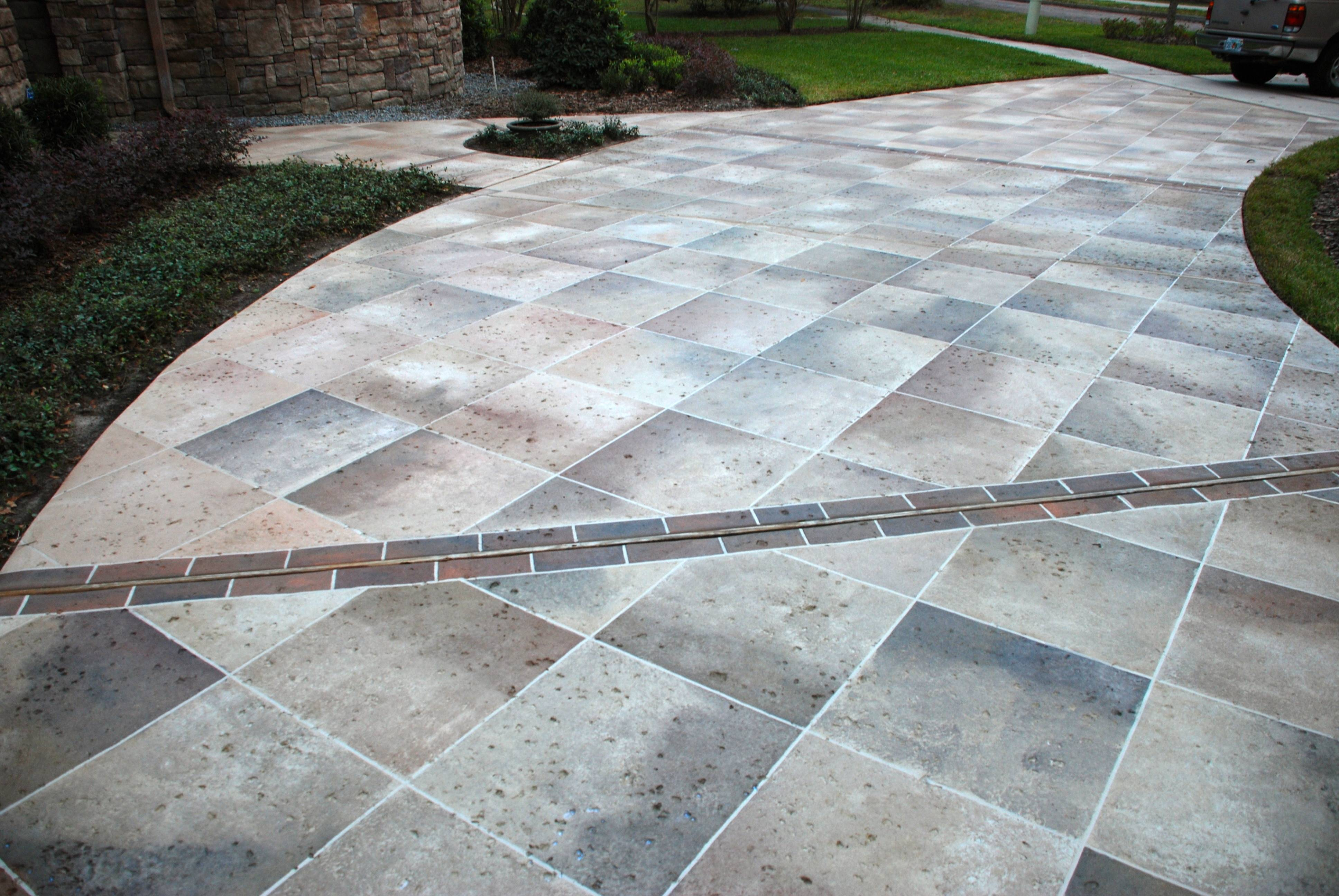 Concrete Driveway Ideas Decorating