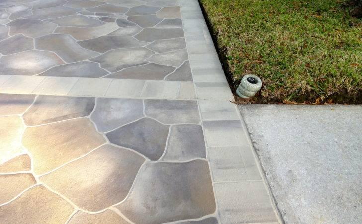 Concrete Driveway Ideas Decorating