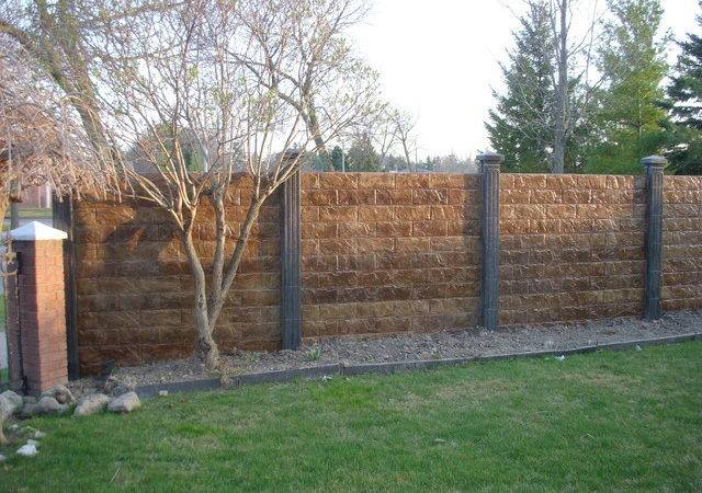 Concrete Fence Projects Modern Home Fencing Gates Toronto
