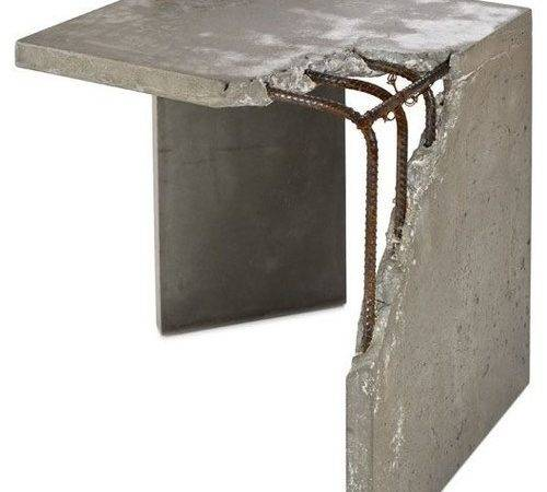 Concrete Furniture Custom Interior