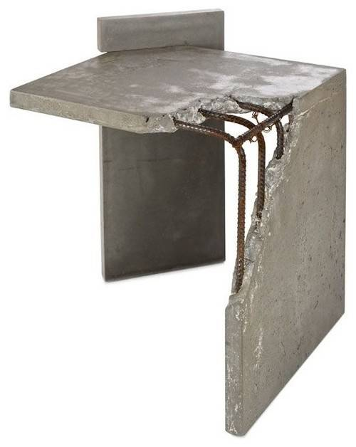 Concrete Furniture Custom Interior