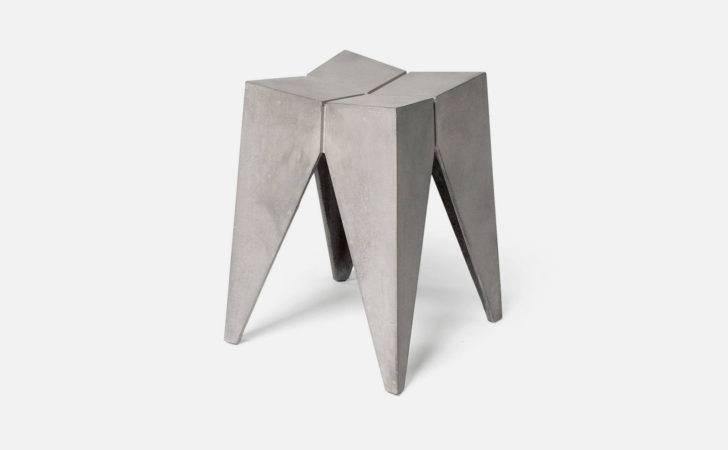 Concrete Furniture Ideas Bridge Stool Ideasgn