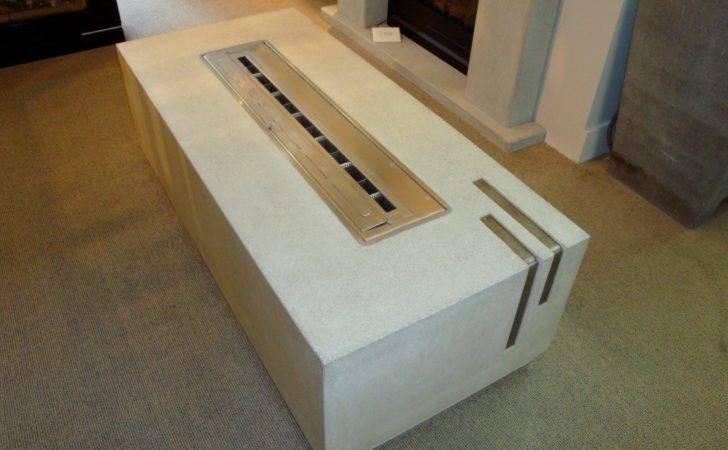 Concrete Furniture Modest Exterior