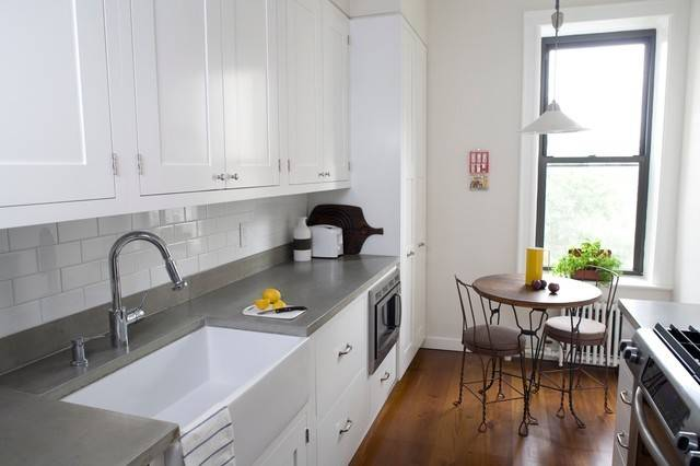 Concrete Kitchen Countertops Modern New York