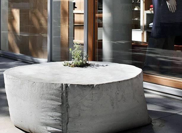 Concrete Outdoor Planter Benches Solso Takeo Kikuchi Shibuya