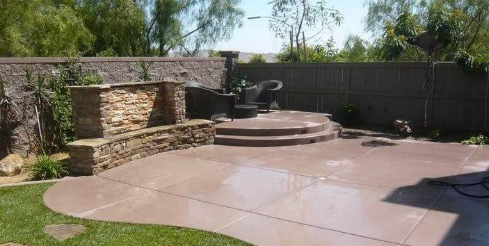 Concrete Patio Design Ideas Cost Landscaping Network