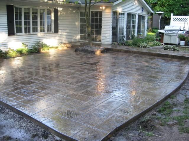 Concrete Patio Ideas Spruce Your Home Designs