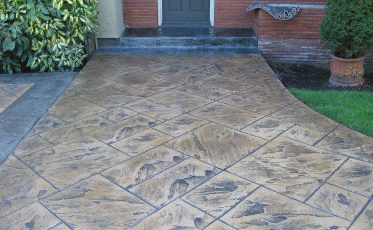 Concrete Patios Stamped Patio Designs Ask Home