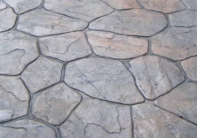 Concrete Patterns Decorative Stamped