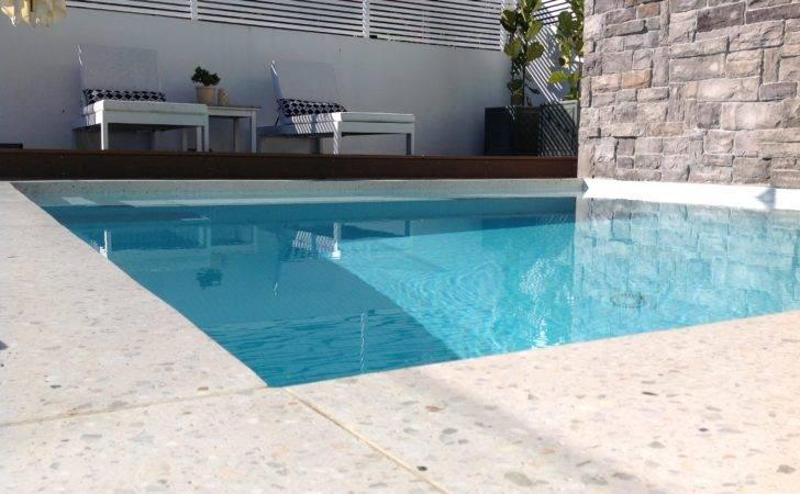 Concrete Polished Pool Area May