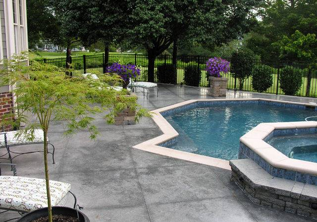 Concrete Pool Deck Ideas Search Results