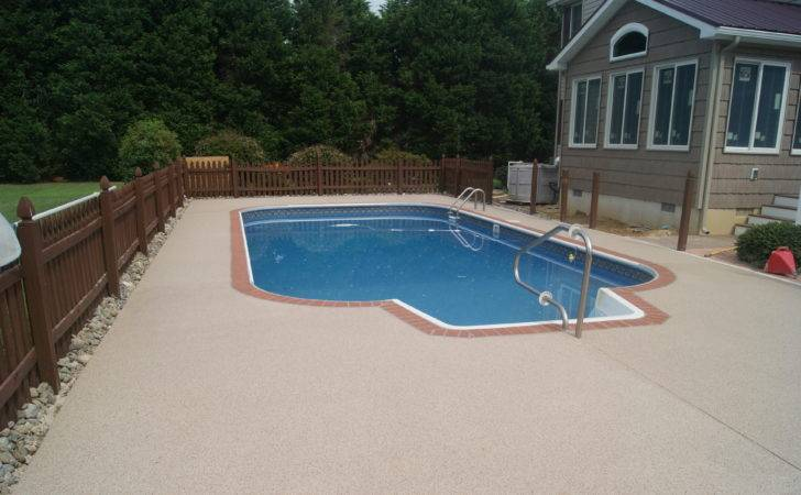 Concrete Pool Deck Repair Resurface